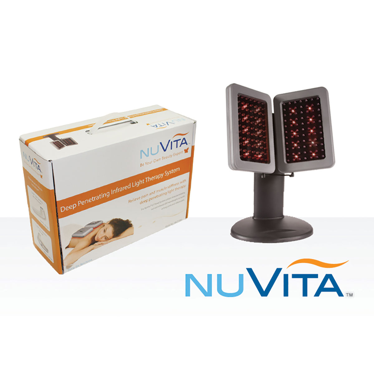 nuvita infrared light therapy ilt panel system infrared lights. Black Bedroom Furniture Sets. Home Design Ideas