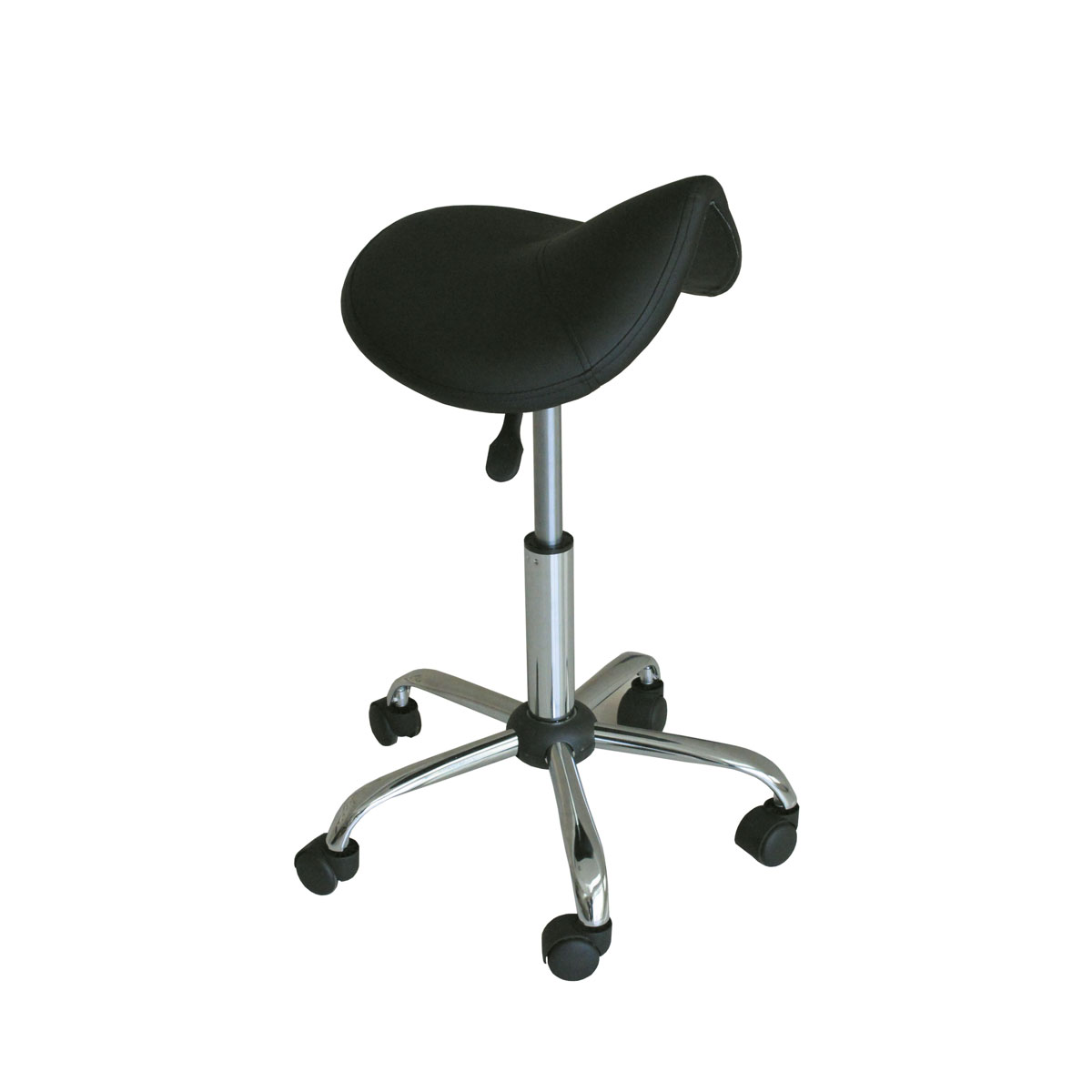 massage pro saddle stool black - Saddle Stools