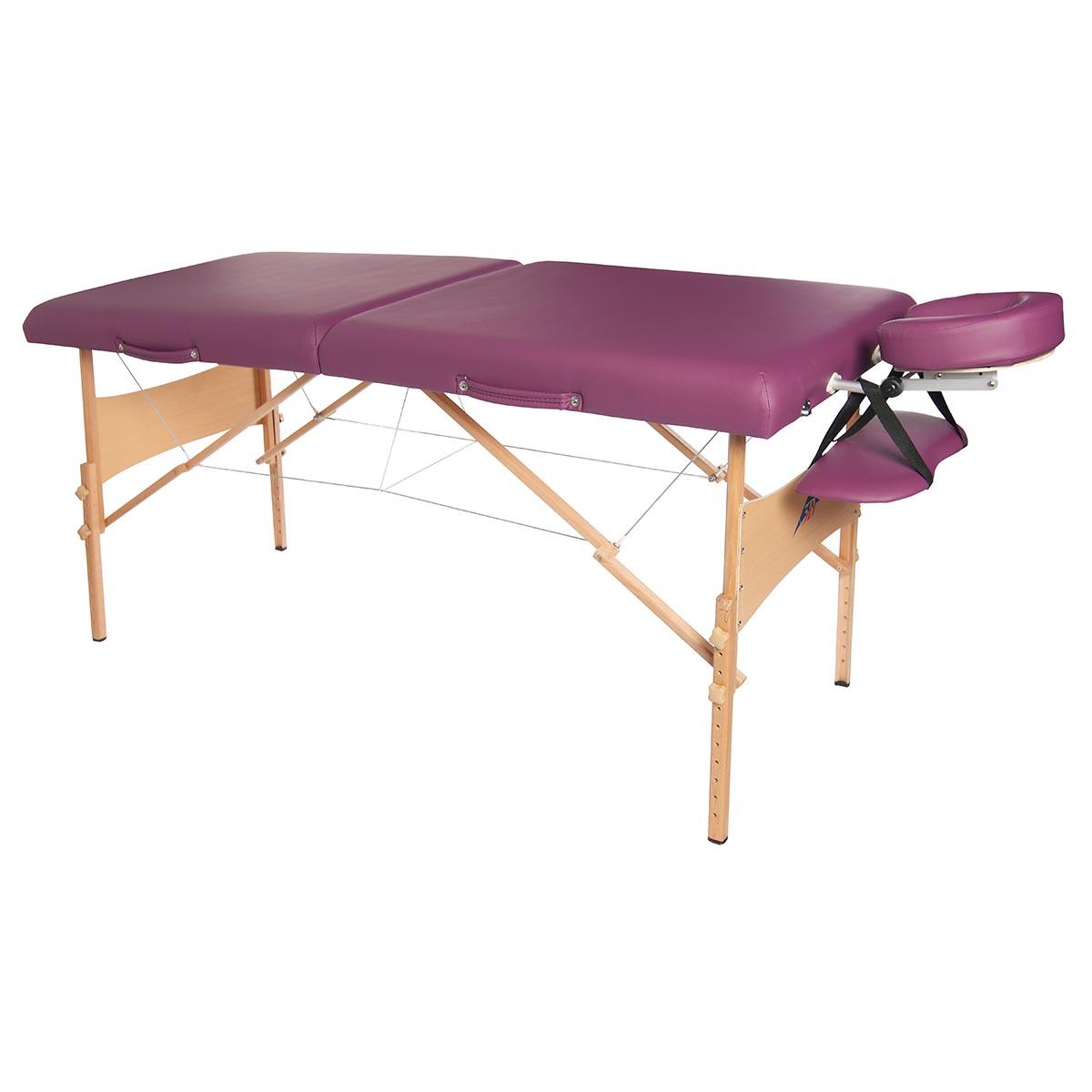 "New BestMassage Black 77""L 3"" Pad Portable Massage Table ... |Massage Table"