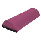 3B Jumbo Half Round Bolster, Burgundy, 1018657 [W60618JH], Pillows and Bolsters