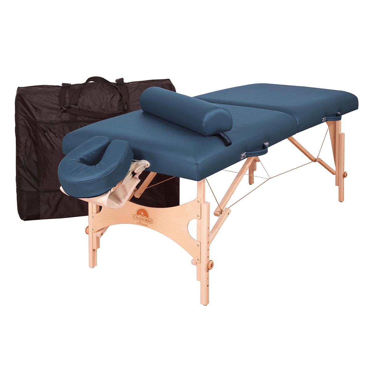 Oakworks aurora professional table package massage tables - Massage table professional ...