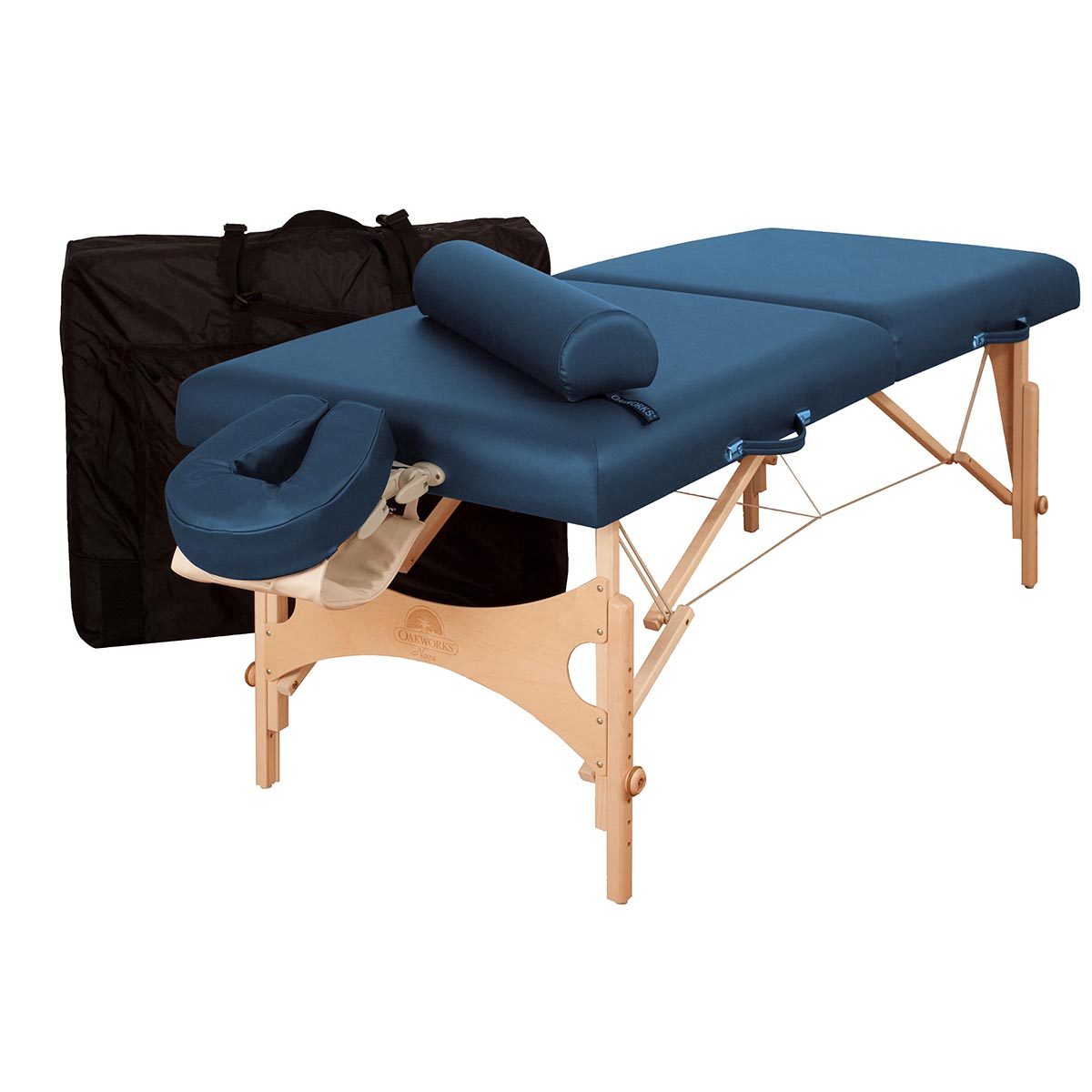 Oakworks nova professional table package massage tables - How much is a massage table ...