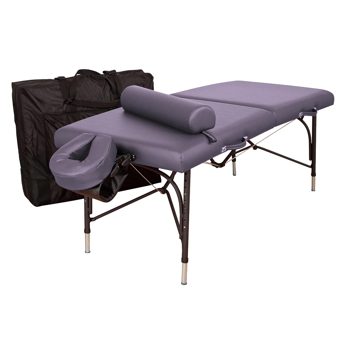 Oakworks wellspring professional table package massage for Massage table