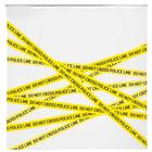 Police Line Shower Curtain, W64508S, Forensic Science