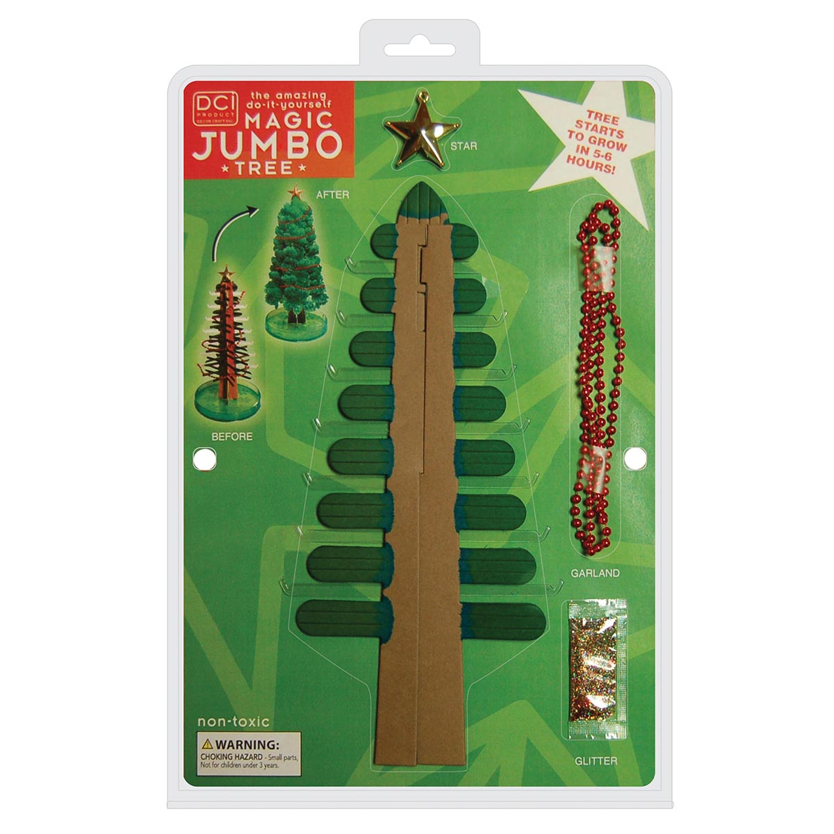 Magic Crystal Growers Christmas Tree Jumbo Size 23101 Geek  - Magic Christmas Tree