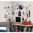 Classic Star Wars Peel & Stick Wall Decals,W64801