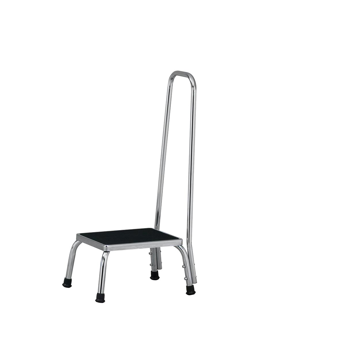 Chrome Step Stool W Handrail W65068 Clinton T 50