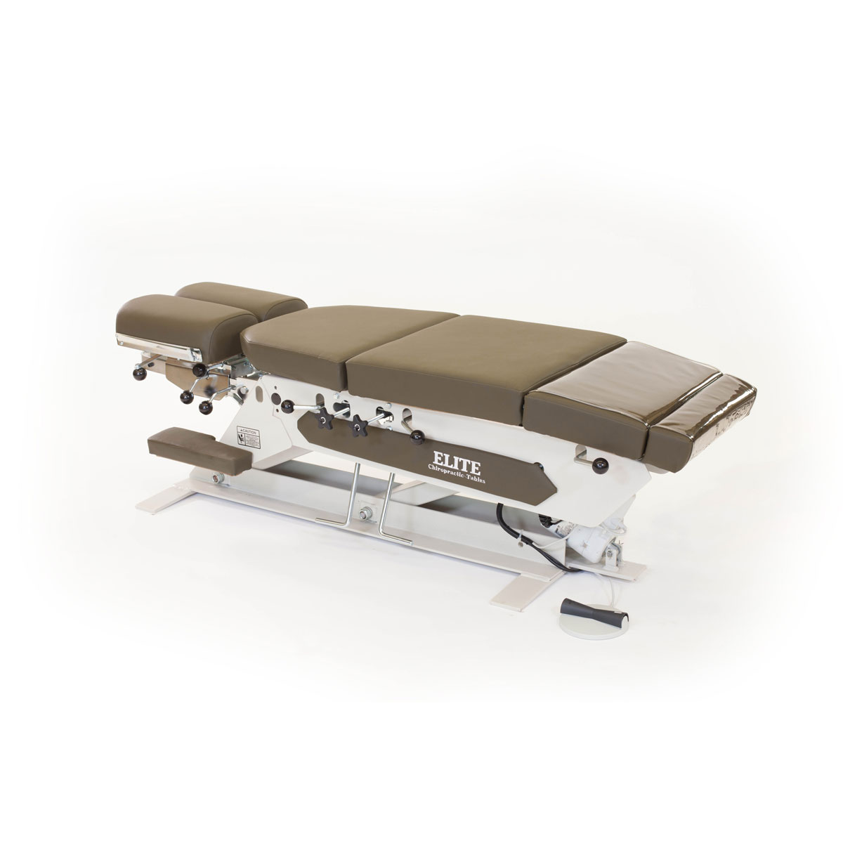 Electric elevation table with cervical pelvic upper Motorized table