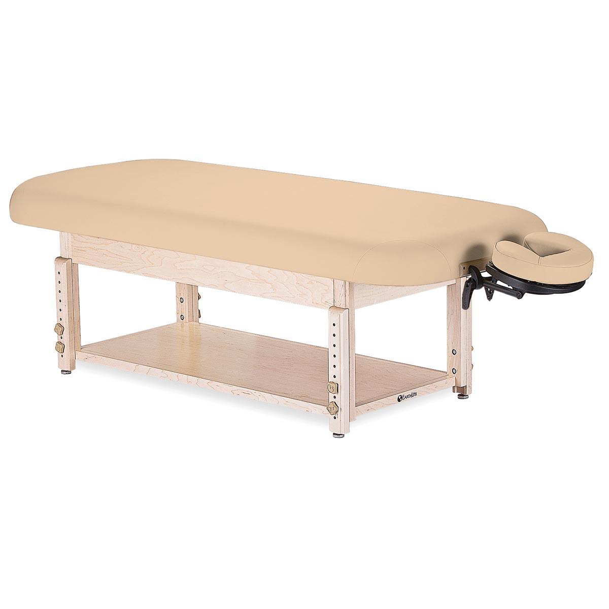 Earthlite sedona stationary massage table massage tables for Massage table