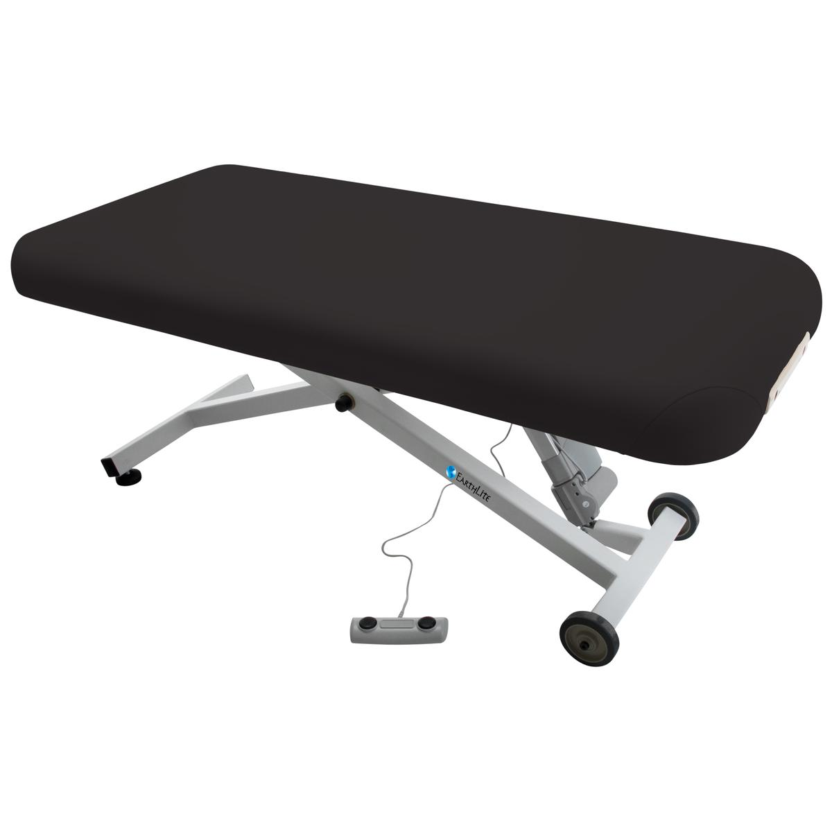 massage table with lift
