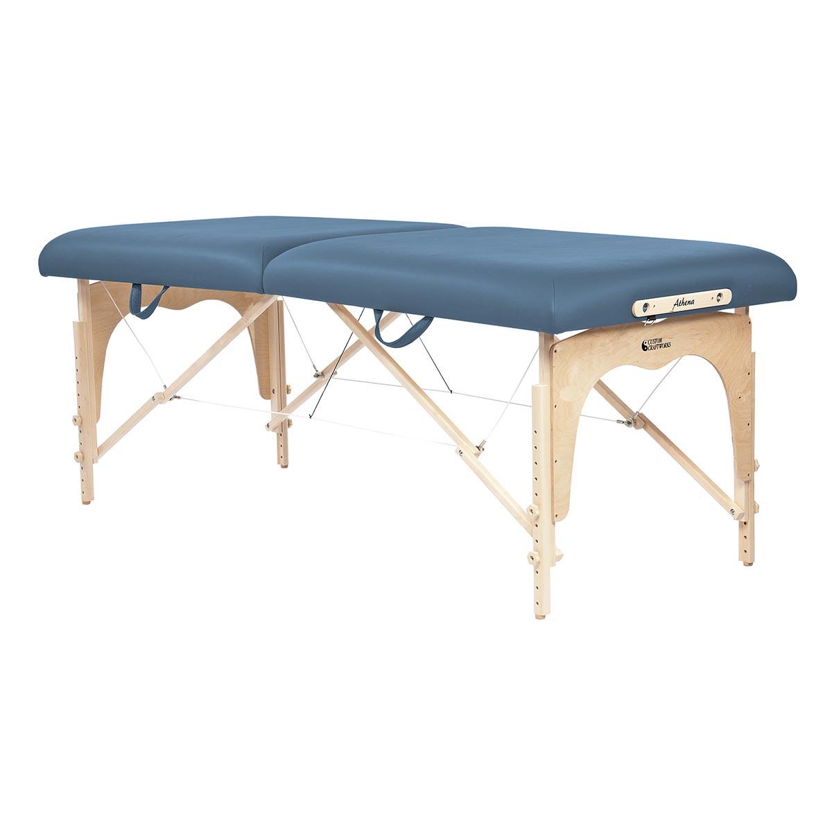 Custom craftworks athena massage table massage table for Massage table