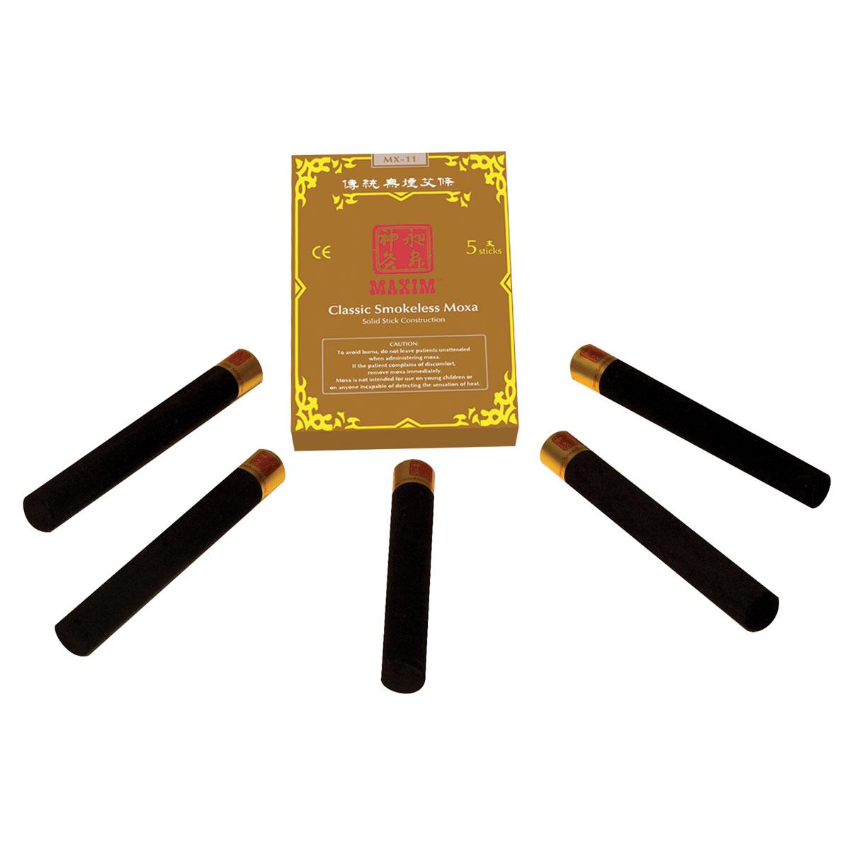 Maxim Smokeless Moxa 5 Sticks W70112 Helio Medical