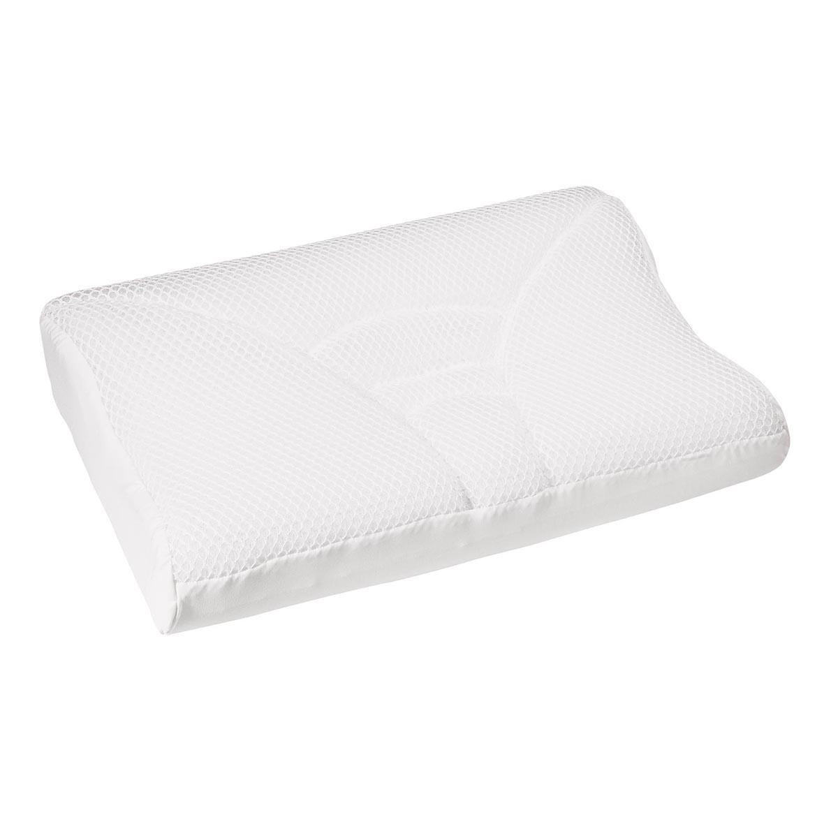 Contour cool mesh memory foam pillow contour products for Contour memory foam pillow