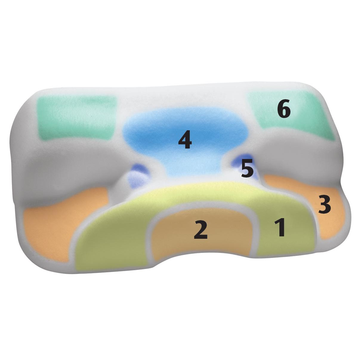 Cpap Sleep Apnea Pillow Contour Products Specialty