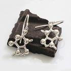 Theobromine (Chocolate) Molecular Jewelry - Earrings,W99588E